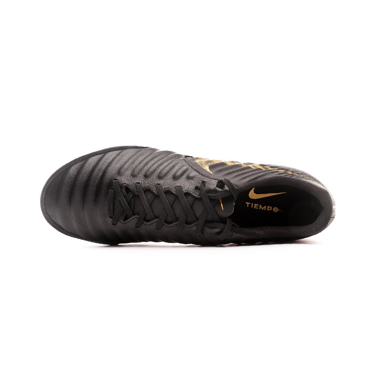 ef07a034ea1 Futsal Boot Nike Tiempo LegendX VII Academy IC Black-Metallic vivid gold -  Football store Fútbol Emotion