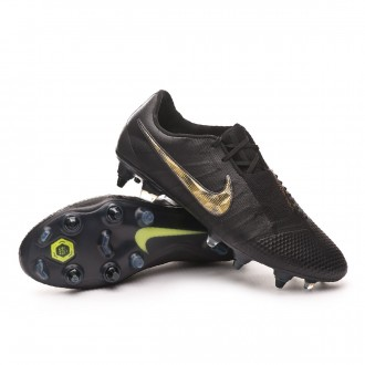 Zapatos de fútbol  Nike Phantom Venom Elite SG-Pro ACC Black-Metallic vivid gold