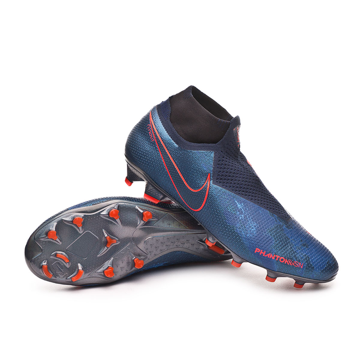 Nike Phantom Vision Elite DF FG Boot. Obsidian-Black-Blue void ... ec7d14f11