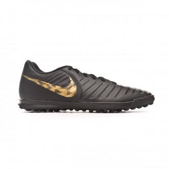 Sapatilhas  Nike Tiempo LegendX VII Club Turf Black-Metallic vivid gold