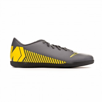 Futsal Boot  Nike Mercurial VaporX XII Club IC Dark grey-Black-Optical yellow