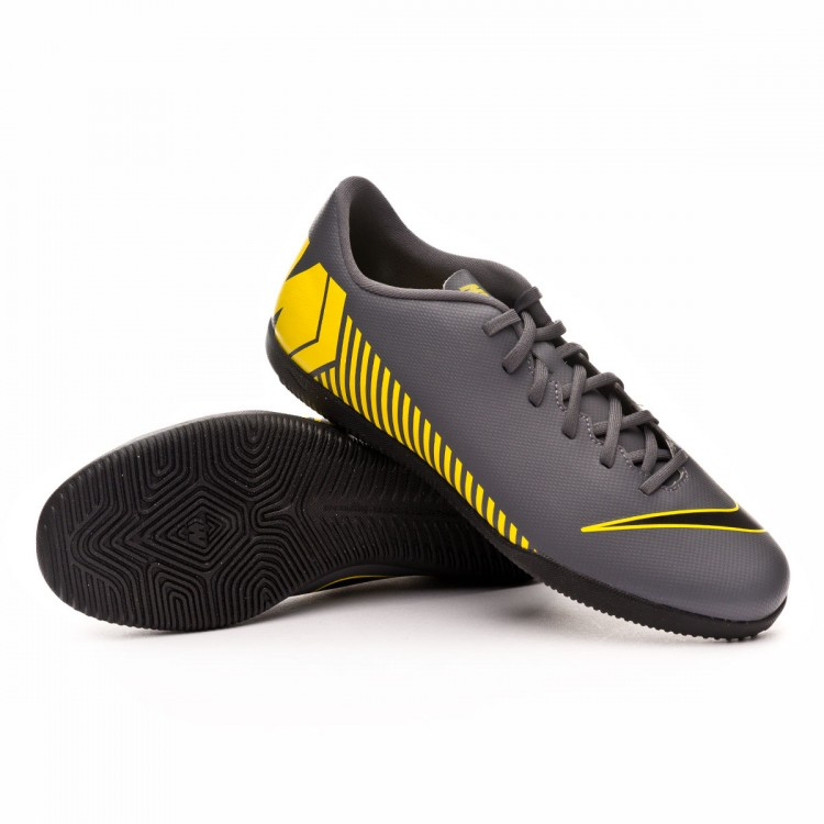 watch 8da62 e31aa Zapatilla Mercurial VaporX XII Club IC Dark grey-Black-Optical yellow