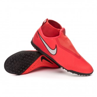 React Phantom Vision Pro DF Turf Bright crimson-Metallic silver