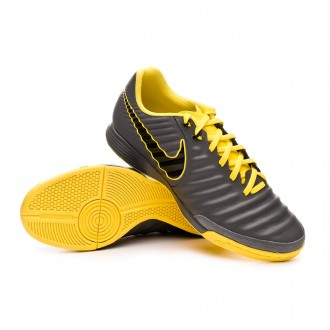 Zapatilla  Nike Tiempo LegendX VII Academy IC Dark grey-Black-Optical yellow