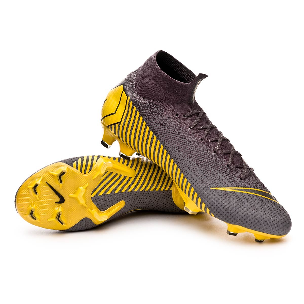superior quality 2b771 e35d3 Bota Mercurial Superfly VI Elite FG Thunder grey-Black-Dark grey