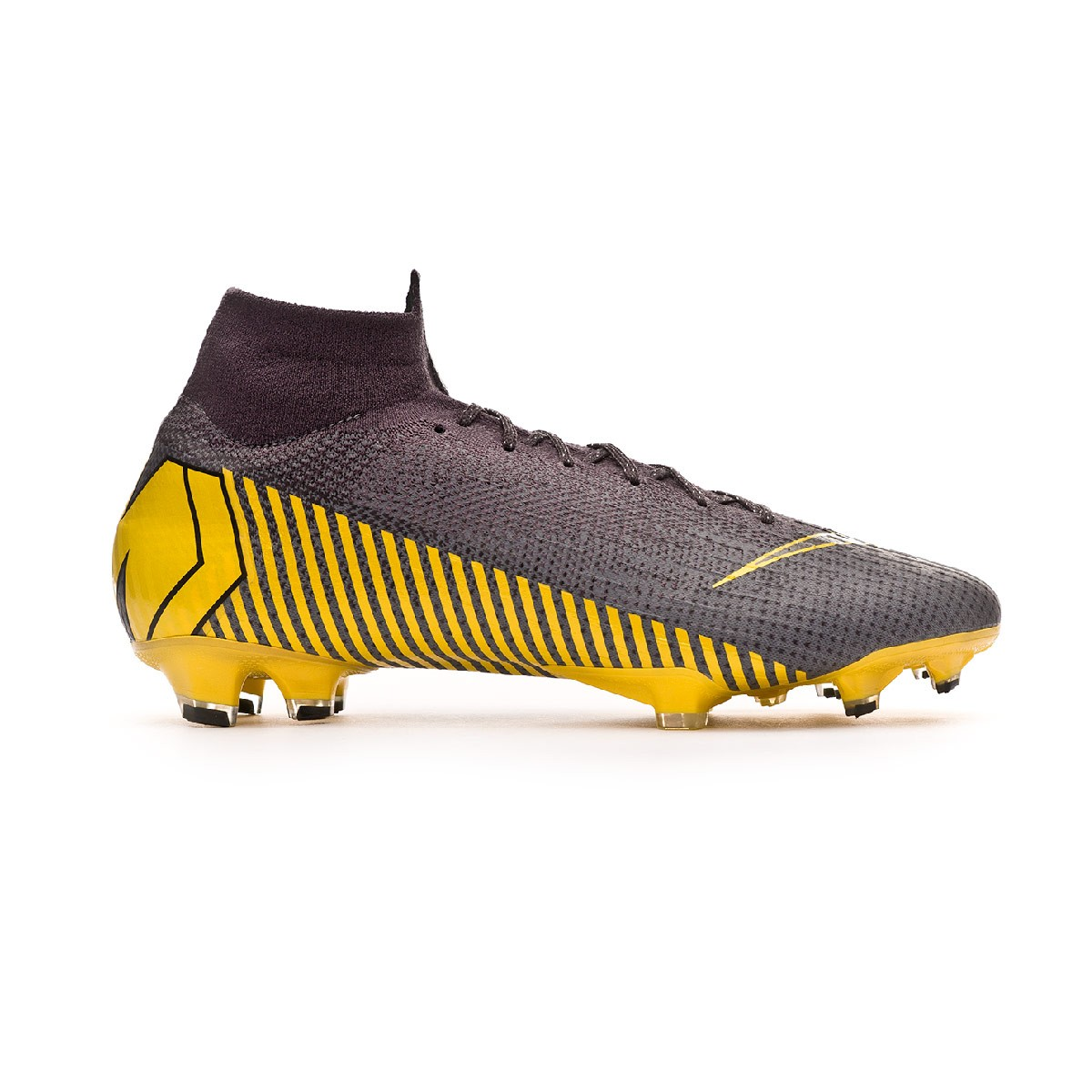 b6876a0f4 Football Boots Nike Mercurial Superfly VI Elite FG Thunder grey-Black-Dark  grey - Football store Fútbol Emotion