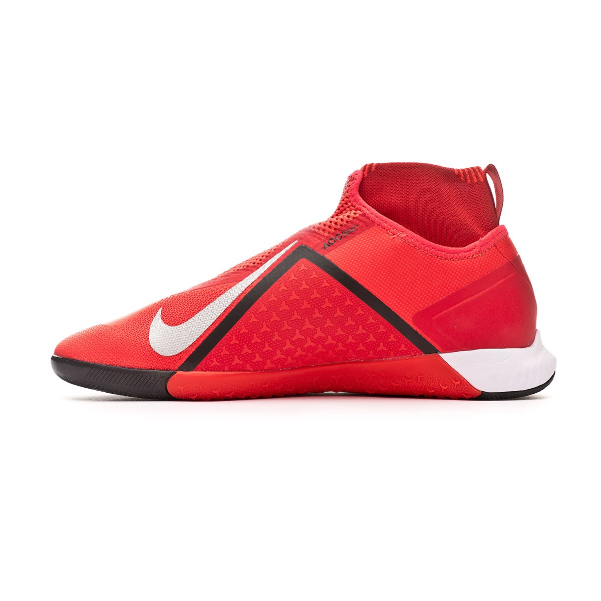 5a4088ac384 Futsal Boot Nike React Phantom Vision Pro DF IC Bright crimson-Metallic  silver - Football store Fútbol Emotion