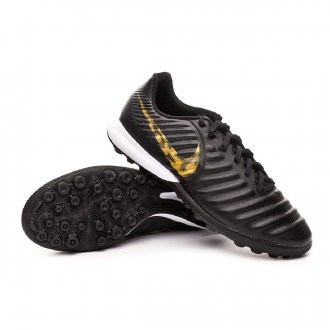 Sapatilhas  Nike Tiempo LegendX VII Pro Turf Black-Metallic vivid gold