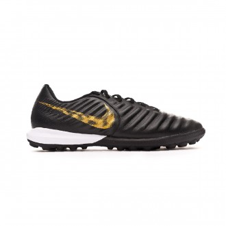 Football Boot  Nike Tiempo LegendX VII Pro Turf Black-Metallic vivid gold