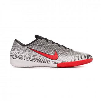 d04327b192c5 Futsal Boot Nike Mercurial VaporX XII Academy Neymar Jr IC White-Challenge  red-Black