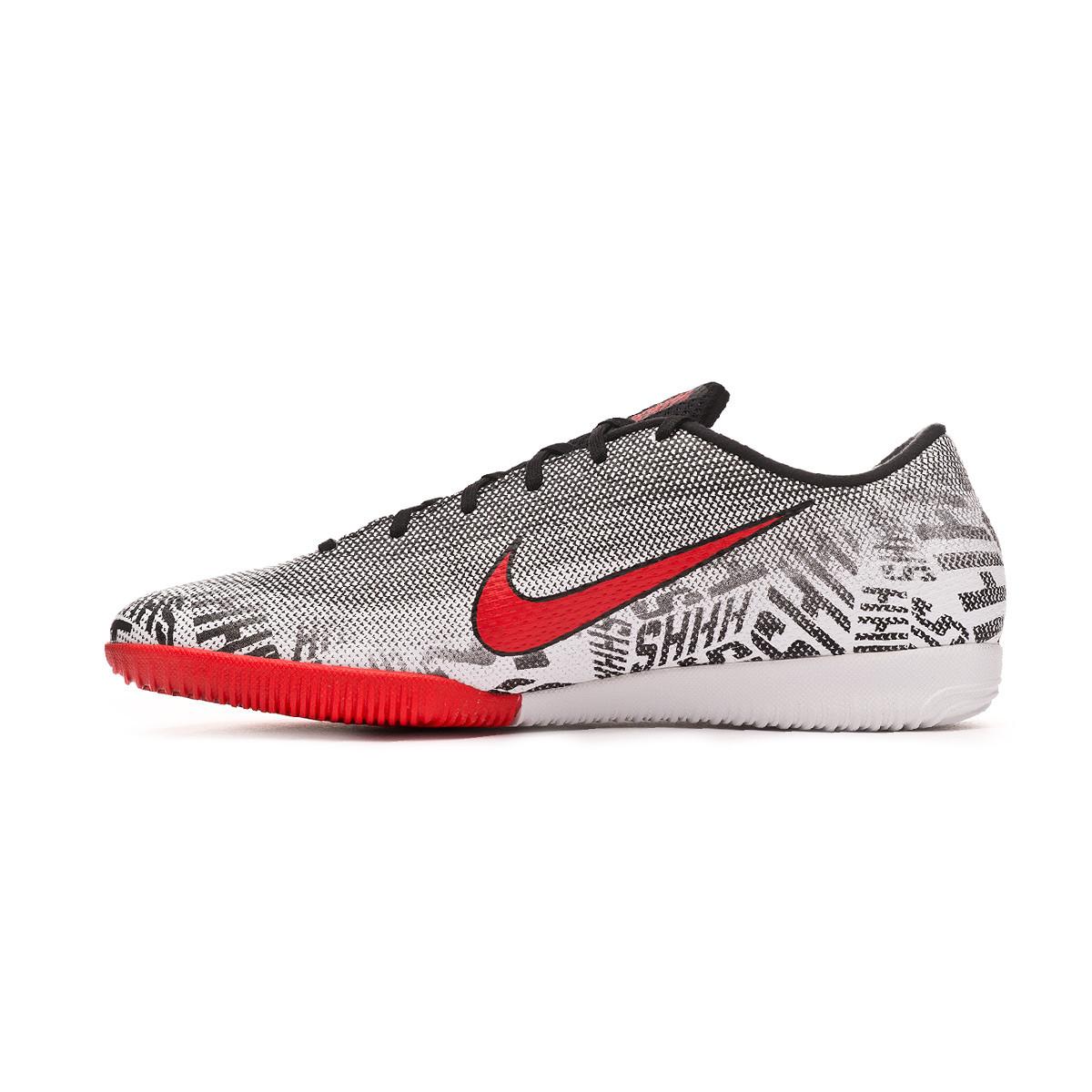 pretty nice 372b7 177cf Tenis Nike Mercurial VaporX XII Academy Neymar Jr IC White-Challenge  red-Black - Tienda de fútbol Fútbol Emotion