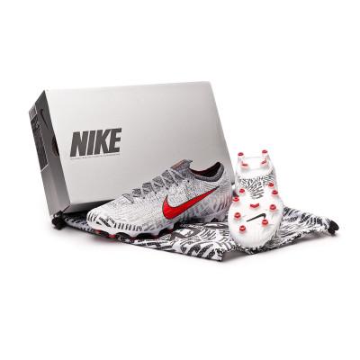 ece34a34d36 Football Boots Nike Mercurial Vapor XII Elite Neymar Jr AG-Pro  White-Challenge red-Black - Tienda de fútbol Fútbol Emotion