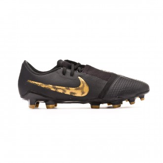 Football Boots  Nike Phantom Venom Pro FG Black-Metallic vivid gold