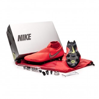 Chaussure de foot  Nike Phantom Vision Elite DF SG-Pro ACC Bright crimson-Metallic silver
