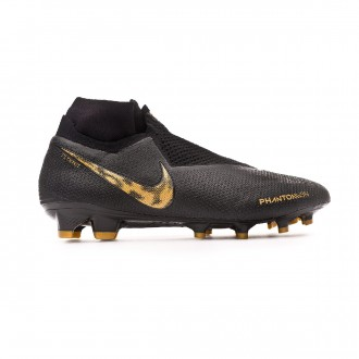 Bota  Nike Phantom Vision Elite DF FG Black-Metallic vivid gold