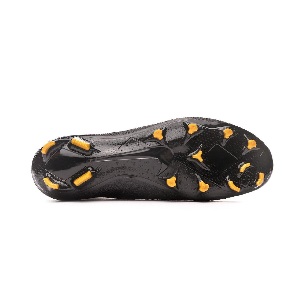763d9801c839 Zapatos de fútbol Nike Phantom Vision Elite DF FG Black-Metallic vivid gold  - Tienda de fútbol Fútbol Emotion