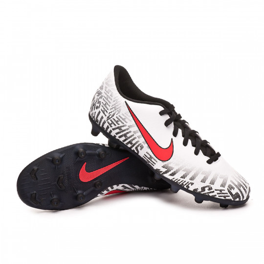 1e1fc1513a6a1 Zapatos de fútbol Nike Mercurial Vapor XII Club Neymar Jr MG White-Challenge  red-Black - Tienda de fútbol Fútbol Emotion
