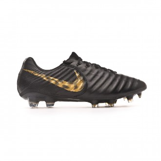 Bota  Nike Tiempo Legend VII Elite FG Black-Metallic vivid gold