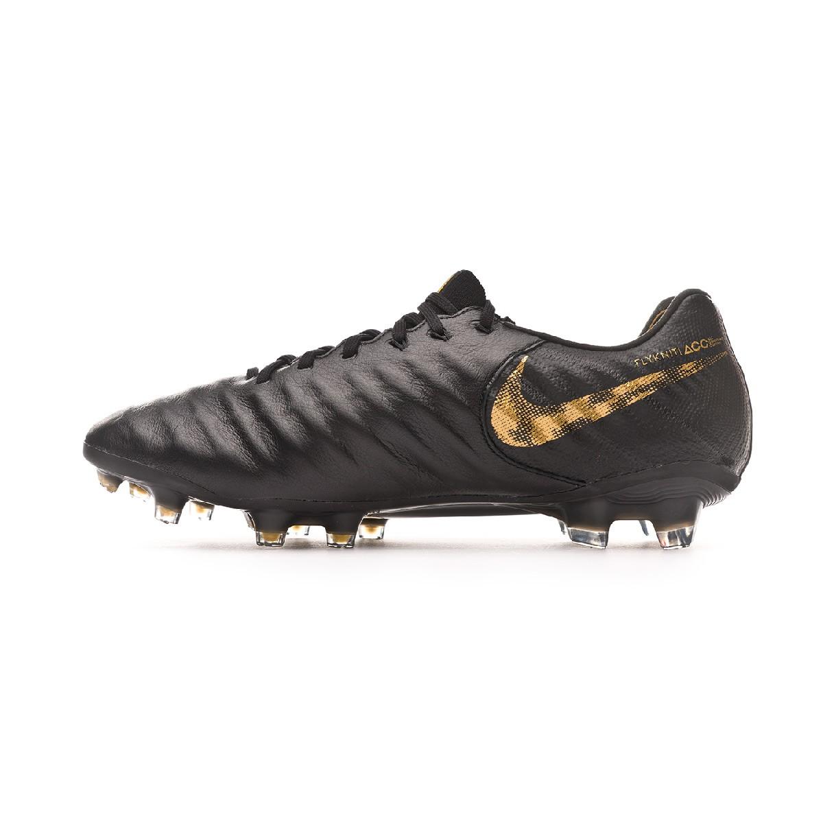 2331a24f50ca Football Boots Nike Tiempo Legend VII Elite FG Black-Metallic vivid gold - Tienda  de fútbol Fútbol Emotion