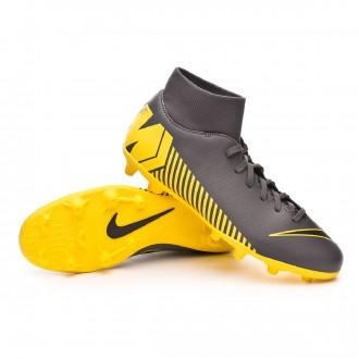Bota  Nike Mercurial Superfly VI Club MG Dark grey-Black-Optical yellow