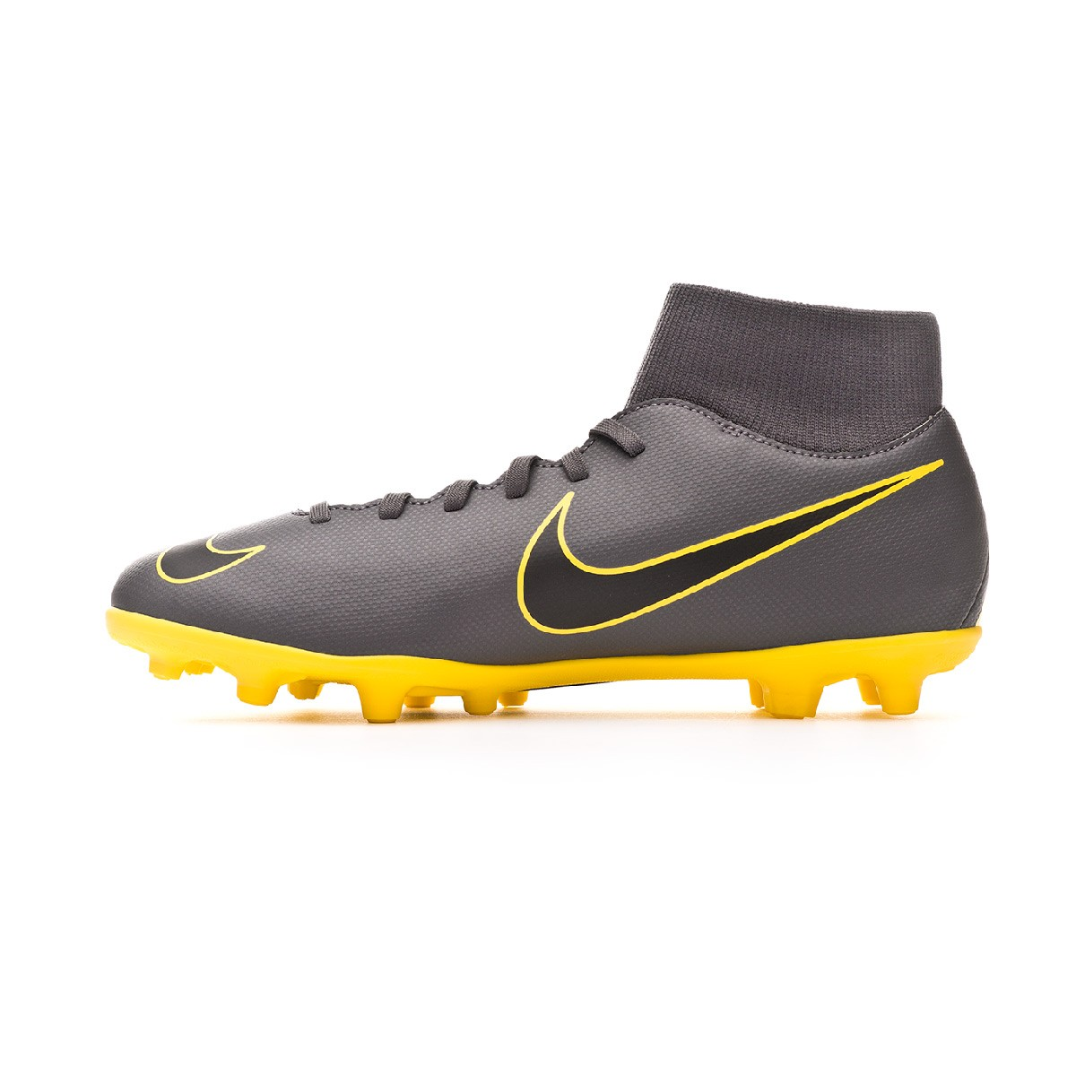 brand new 937b3 363a5 Bota Mercurial Superfly VI Club MG Dark grey-Black-Optical yellow