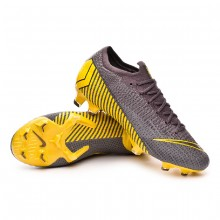Zapatos de fútbol Mercurial Vapor XII Elite FG Thunder grey-Black-Dark grey