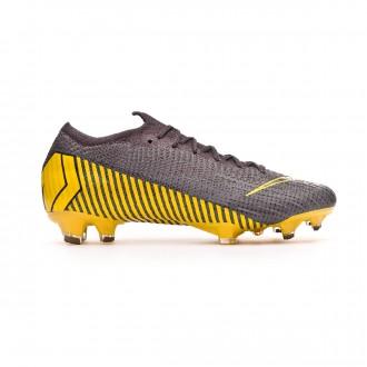 Chaussure de foot  Nike Mercurial Vapor XII Elite FG Thunder grey-Black-Dark grey