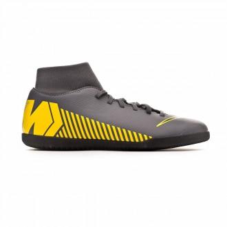 Chaussure de futsal  Nike Mercurial SuperflyX VI Club IC Dark grey-Black-Optical yellow