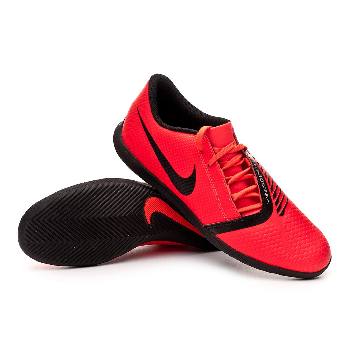 the best attitude f02f8 f9929 Futsal Boot Nike Phantom Venom Club IC Bright crimson-Black - Football  store Fútbol Emotion