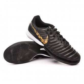 Zapatilla  Nike Tiempo LegendX VII Pro IC Black-Metallic vivid gold