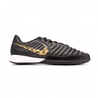 Futsal Boot  Nike Tiempo LegendX VII Pro IC Black-Metallic vivid gold