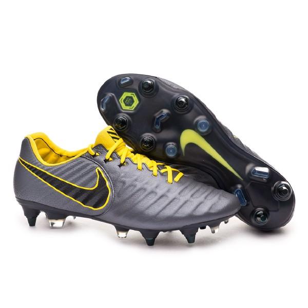 f9ea4804913 Football Boots Nike Tiempo Legend VII Elite Anti-Clog SG-Pro Dark grey-Optical  yellow-Black - Football store Fútbol Emotion