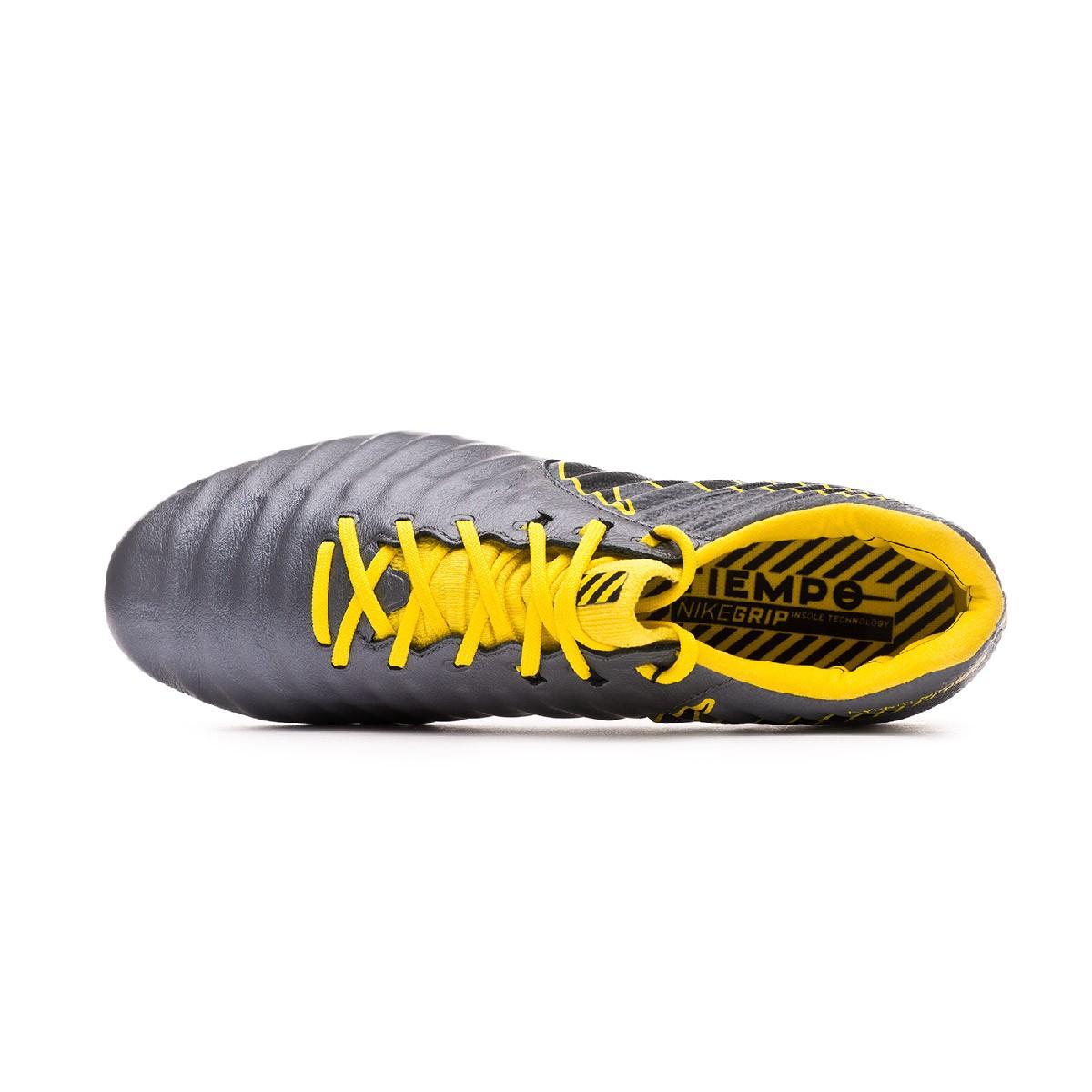 ffeae38af Football Boots Nike Tiempo Legend VII Elite Anti-Clog SG-Pro Dark grey-Optical  yellow-Black - Tienda de fútbol Fútbol Emotion