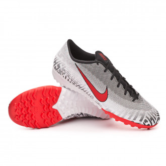 Sapatilhas  Nike Mercurial VaporX XII Academy Turf White-Challenge red-Black