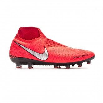 Bota  Nike Phantom Vision Elite DF AG-Pro Bright crimson-Metallic silver