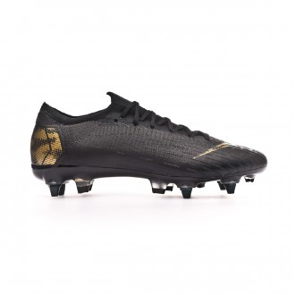 f3370cdc4 Football Boots Nike Mercurial Vapor XII Elite Anti-Clog SG-Pro Black -Metallic