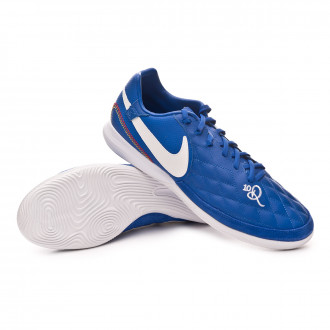 Sapatilha de Futsal  Nike Lunar LegendX VII Pro 10R IC Game royal-White