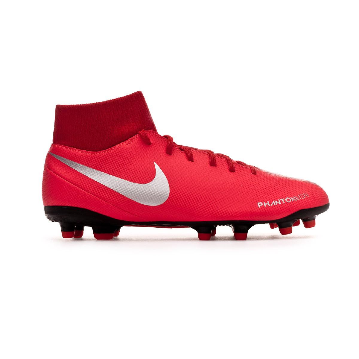 outlet store 9be06 9b14d Boot Nike Phantom Vision Club DF FGMG Bright crimson-Metallic silver -  Football store Fútbol Emotion