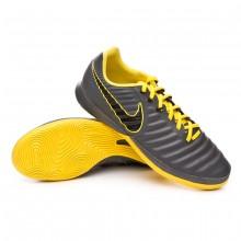 Sapatilha de Futsal Tiempo LegendX VII Pro IC Dark grey-Black-Optical yellow