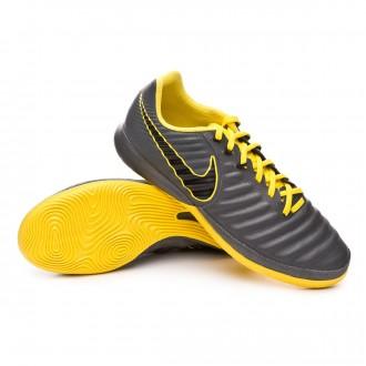 122f6a70c27a Chaussure de futsal Nike Tiempo LegendX VII Pro IC Dark grey-Black-Optical  yellow