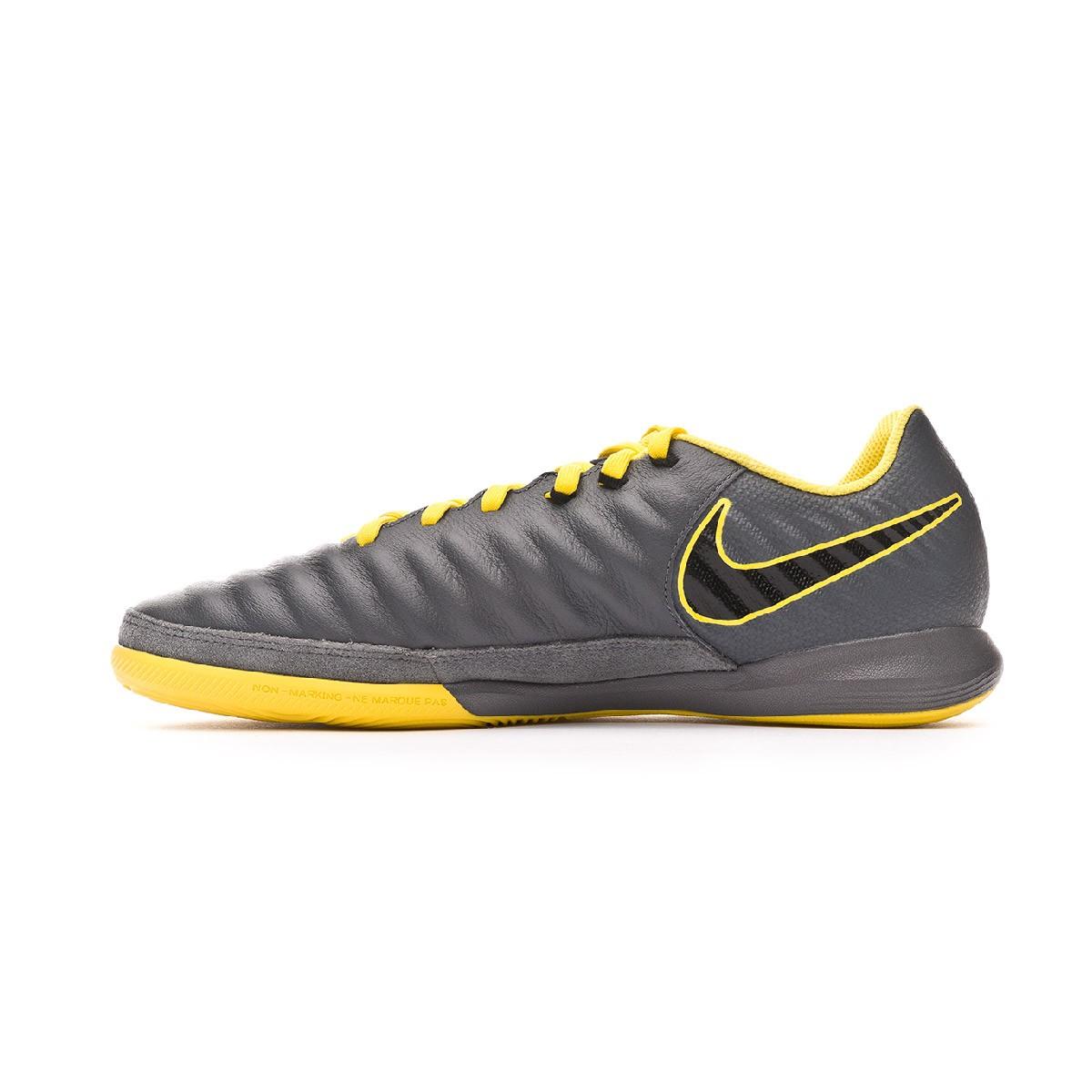 bc2422ac8ab2c Futsal Boot Nike Tiempo LegendX VII Pro IC Dark grey-Black-Optical yellow -  Football store Fútbol Emotion
