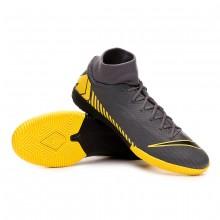 Zapatilla Mercurial SuperflyX VI Academy IC Dark grey-Black-Optical yellow
