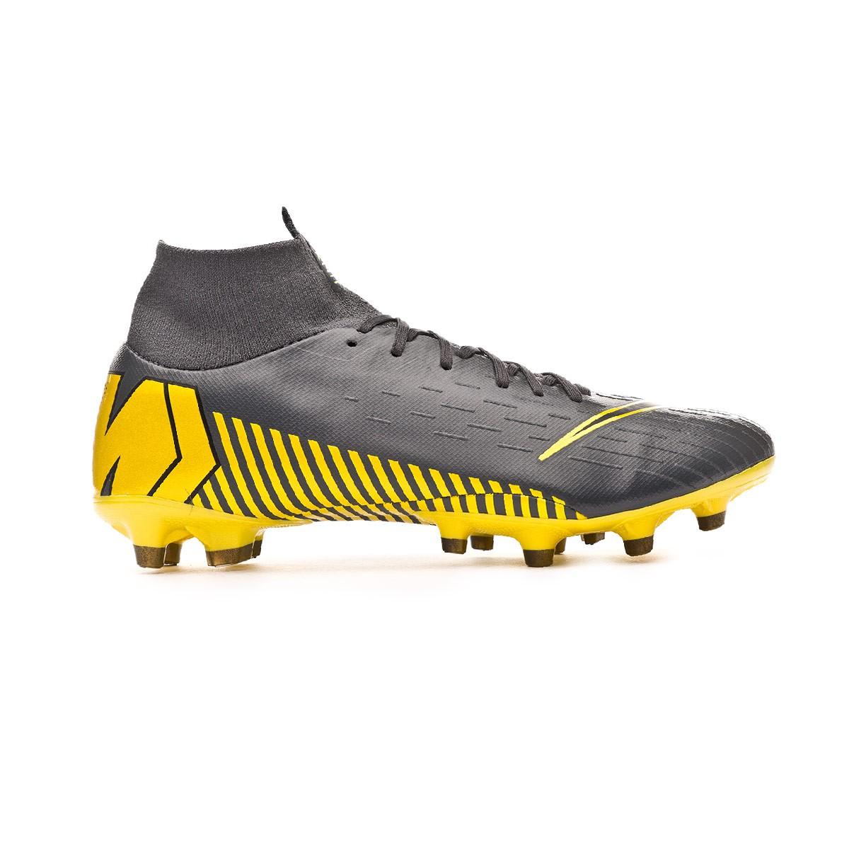 737e83633ab0e Boot Nike Mercurial Superfly VI Pro AG-Pro Dark grey-Black - Leaked soccer