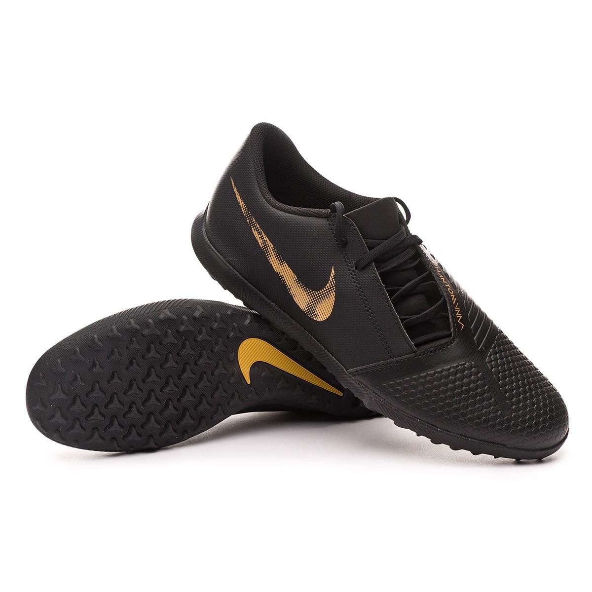 899566e6ff7 Football Boot Nike Phantom Venom Club Turf Black-Metallic vivid gold ...
