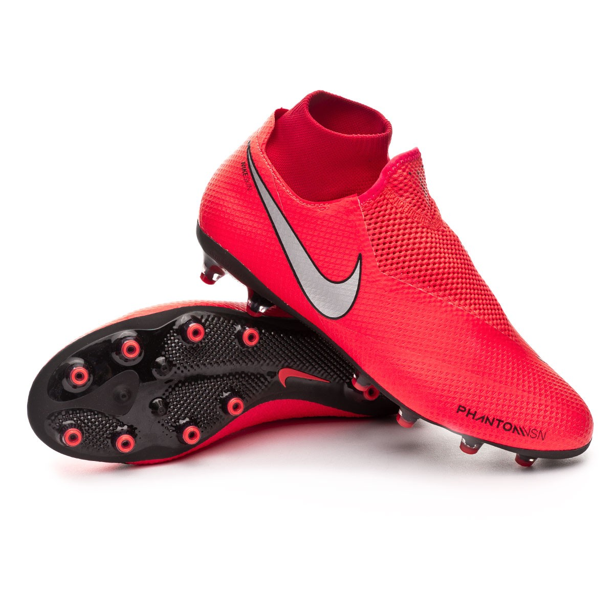 b892d2138 Football Boots Nike Phantom Vision Pro DF AG-Pro Bright crimson ...