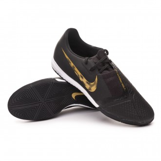 Futsal Boot  Nike Phantom Venom Academy IC Black-Metallic vivid gold