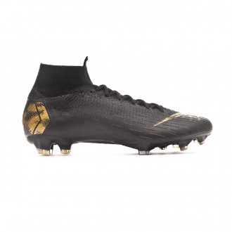 e22c473be3 Football Boots Nike Mercurial Superfly VI Elite FG Black-Metallic vivid gold