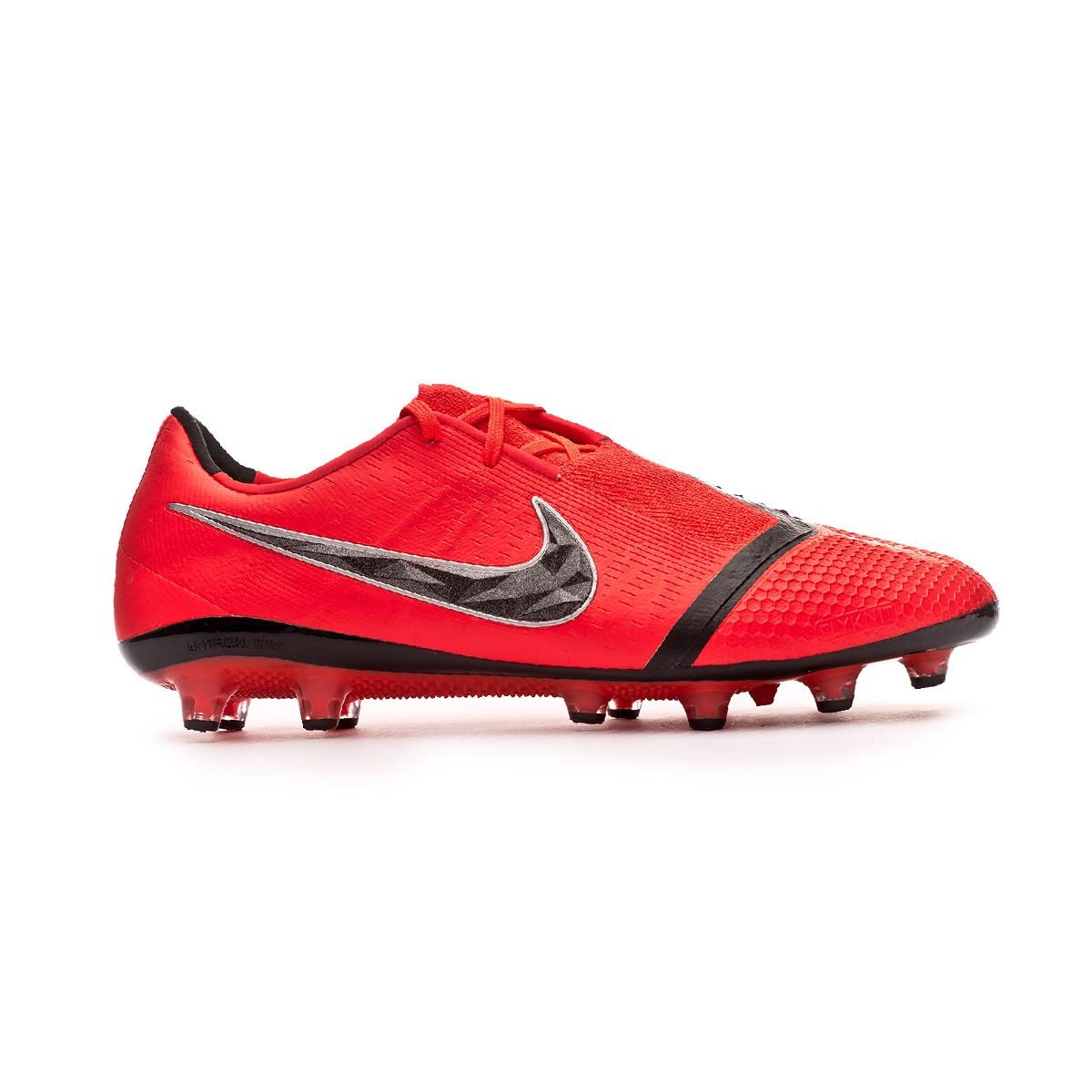 7b2f5601345 Football Boots Nike Phantom Venom Elite AG-Pro Bright crimson-Black -  Football store Fútbol Emotion