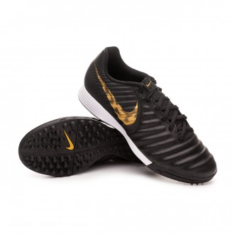 Football Boot  Nike Tiempo LegendX VII Academy Turf Black-Metallic vivid gold