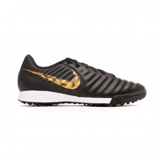 Sapatilhas  Nike Tiempo LegendX VII Academy Turf Black-Metallic vivid gold